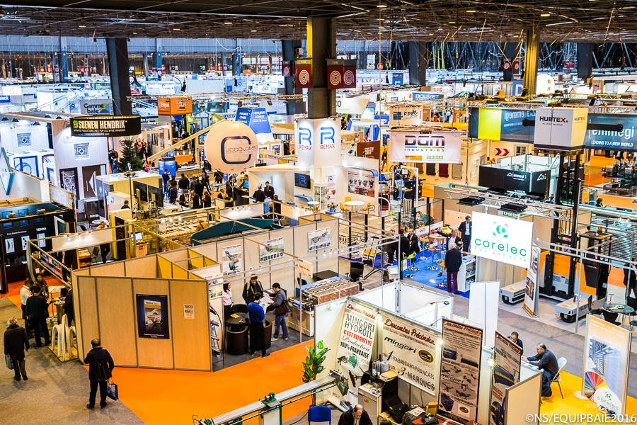 EQUIPBAIE METAL EXPO - Photo vue d'en haut
