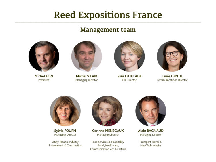 Management Team - Reed Expositions France 2017