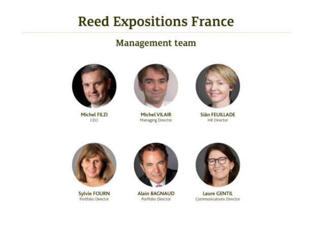 Reed Expositions France - Management Team  2018