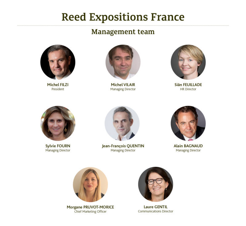 Reed Expositions France - Management Team 2019